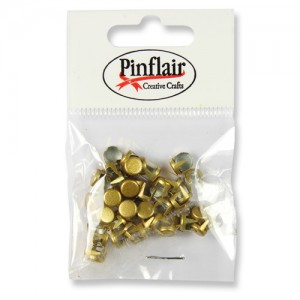 Pinflair Gold Studs