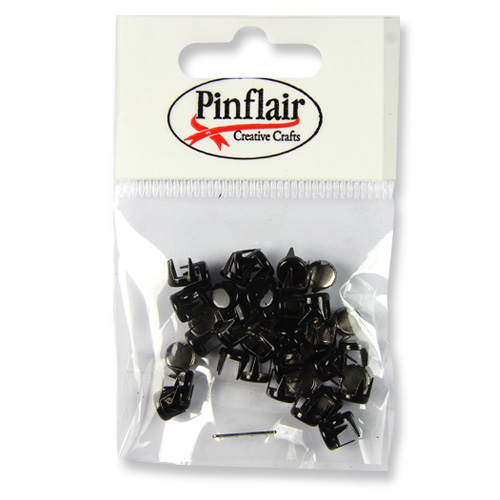 Pinflair Black Studs