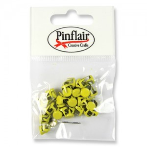 Pinflair Yellow Studs